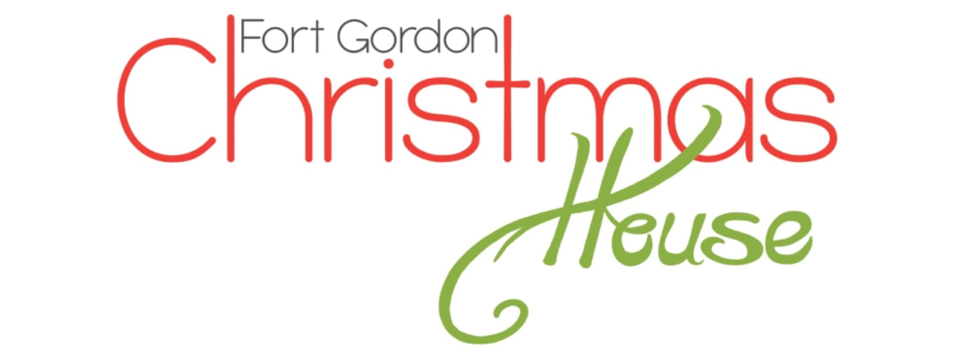 Fort Gordon Christmas House Logo